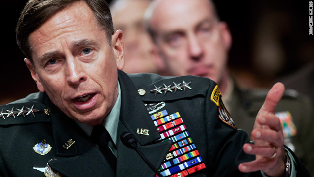U.S. Gen. David Petraeus said drawdowns in July in Afghanistan will probably include withdrawing combat troops.
