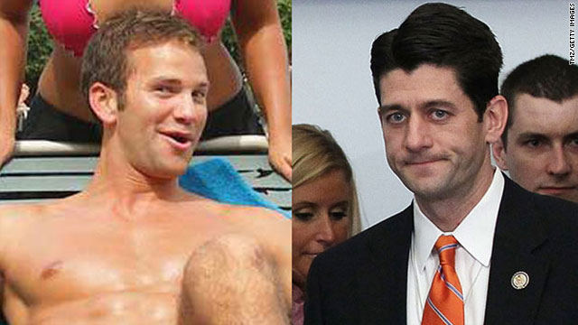 Republican Reps. Aaron Schock, left, and Paul Ryan are proud P90Xers.