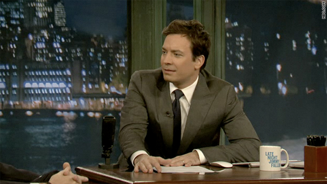 NBC late-night host Jimmy Fallon is fuming about President Barack Obama's response to the  Libyan crisis.