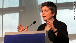 Secretary Janet Napolitano says deportations have focused on illegal immigrants who commit crimes.