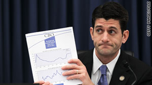 House Budget Chairman Paul Ryan's spending plan is to be unveiled Tuesday.