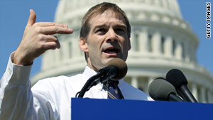 """I believe voters are asking us to set our sights higher,"" Rep. Jim Jordan, R-Ohio, said of the budget deal."