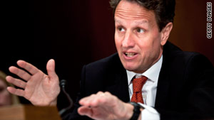 Treasury Secretary Tim Geithner has warned warned that the world is watching how the U.S. handles its debt issues.