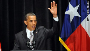 President Obama got a lukewarm welcome when he traveled to Texas to raise funds last August.