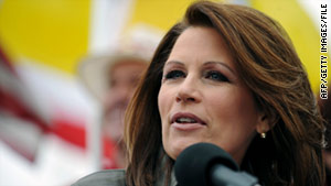 "GOP Rep. Michele Bachmann says there are more important issues than the ""birther"" question."