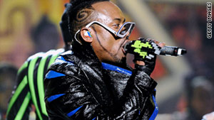 "Black Eyed Peas singer Will.i.am produced the song ""Yes We Can"" for Obama in 2008."