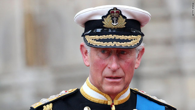 Prince Charles will visit Washington, D.C., just days after the royal wedding.
