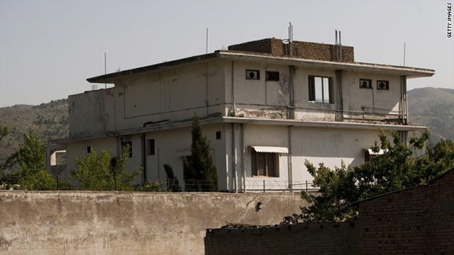 U.S. Navy SEALs stormed this compound in Pakistan where Osama bin Laden was living.