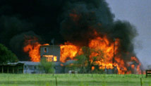 Branch Davidian raid in Waco