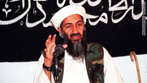 An undated photo shows al Qaeda leader Osama bin Laden in an undisclosed place in Afghanistan.