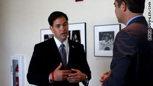 Even though he says he's focused on representing Florida in the Senate, some Republicans hope Marco Rubio will consider a presidential run.