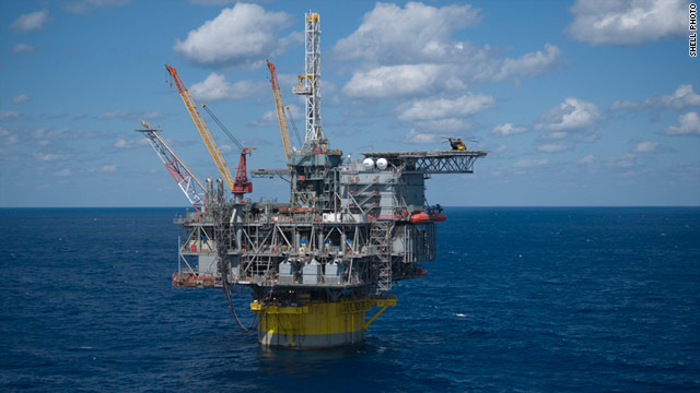 Shell's Perido platform is about 200 miles from the Texas coast and is considered the world's deepest offshore drilling facility.
