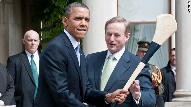 Obama kicks off six-day trip in Ireland