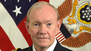 Gen. Martin Dempsey has gained attention for his troop outreach, sense of humor and outgoing personality.