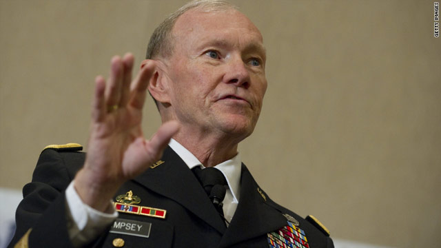 Gen. Martin Dempsey fought in the first Gulf War and returned to Iraq as commander of the 1st Armored Division.