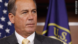 House Speaker John Boehner, R-Ohio, introduced the resolution rebuking President Obama's Libya policy.