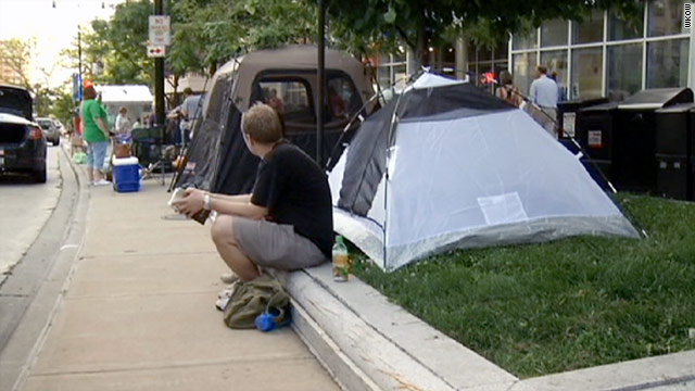 Walkerville, a two-week, staged political event named after Gov. Scott Walker, is a tent city in Madison, Wisconsin.