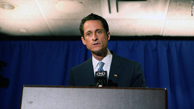 Weiner's Confession: Join the Live Chat