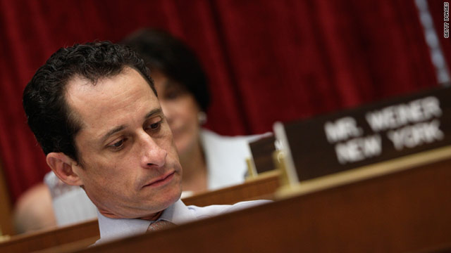 Rep. Anthony Weiner, D-New York, attends a House markup on Capitol Hill June 2  in Washington, DC.