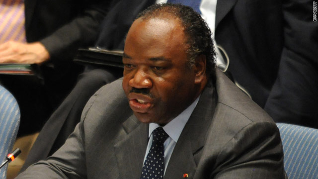 Gabon's Bongo drums up controversy with Oval Office visit