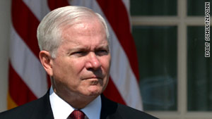 Robert Gates criticized NATO readiness and resources but praised governments that had helped in Afghanistan.