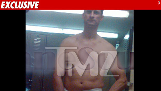 TMZ reports this photo of Rep. Anthony Weiner was taken in the House members' gym.