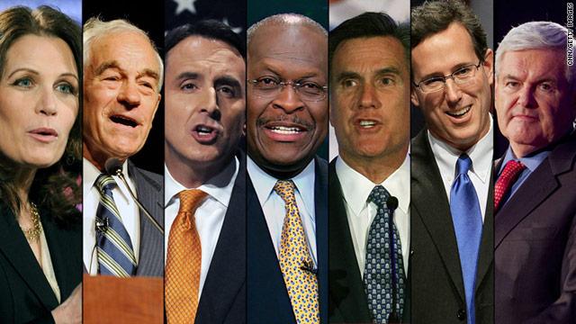 GOP presidential contenders face off in CNN debate