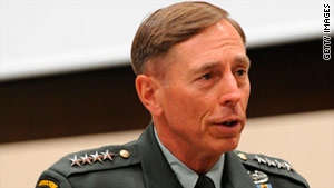 Gen. David Petraeus has not shared his recommendation with any of his senior staff, aides say.