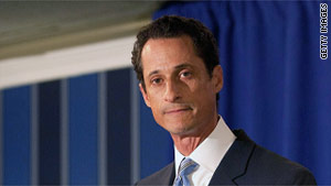 Rep. Anthony Weiner, D-New York, admitted sending inappropriate tweets to women.