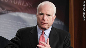 Sen. John McCain talked about the 2012 GOP presidential candidates on Sunday.