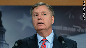 Sen. LIndsey Graham said Sunday the War Powers Resolution of 1973 is unconstitutional.
