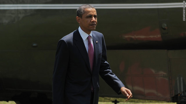 President Barack Obama warns that market reaction to a potential U.S. default could harm the economic recovery.