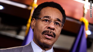 The chairman of the Congressional Black Caucus, Emanuel Cleaver, D-Missouri, says he won't vote for benefit cuts.