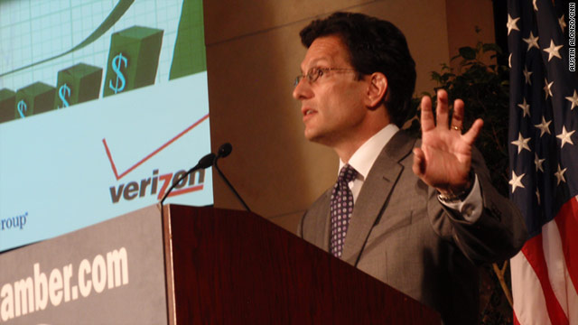 "House Majority Leader Eric Cantor: ""Currently, there is not a single debt limit proposal that can pass the House."""