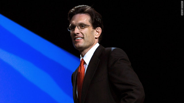 House Majority Leader Eric Cantor is strongly against any tax hike when it comes to a debt ceiling deal.