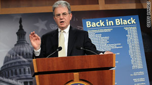 "Sen. Tom Coburn, R-Oklahoma, rejoined the ""Gang of Six"" after withdrawing from the group."