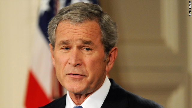 Former President George W. Bush signed massive tax cut bills into law in 2001 and 2003.