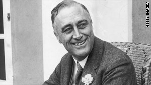 Franklin Roosevelt's eloquence helped Americans believe in government again, a historian says.