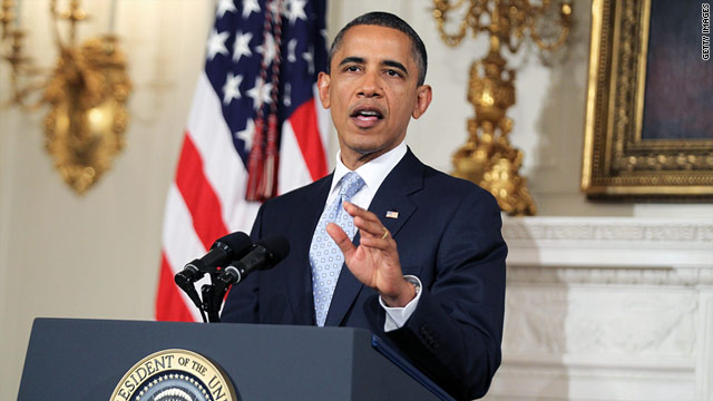 """My hope is that Friday's news will give us a renewed sense of urgency,"" President Obama said on Monday."