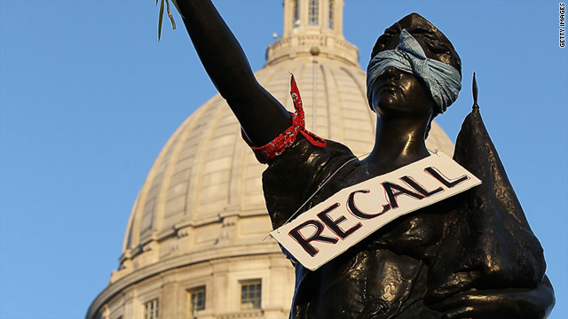 Wisconsin GOP senators won four of six recall elections, which means they will maintain majority control in the state Senate.