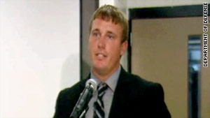 Dakota Meyer says the incident is still difficult to think about because his team members died.