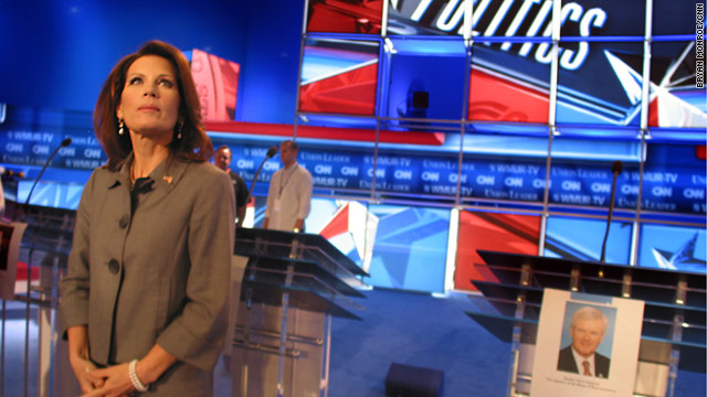 Rep. Michele Bachmann and the other Republican presidential candidates have a lot at stake in the upcoming debates.