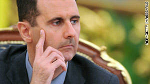 Syrian President Bashar al-Assad has faced international pressure to end a crackdown against protesters.
