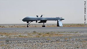 The Pentagon says attacks by armed Predator unmanned planes have risen to 1.4 a day.