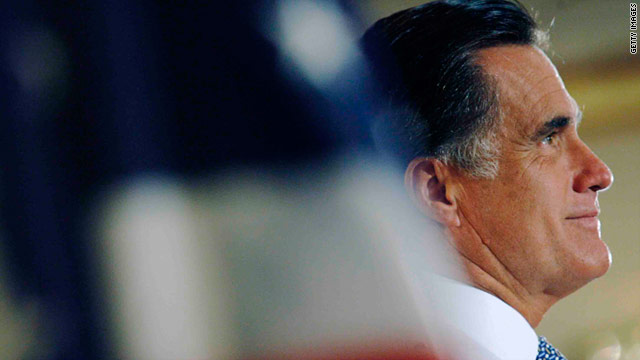 Former Massachusetts Gov. Mitt Romney was the initial front-runner for the GOP presidential nomination.