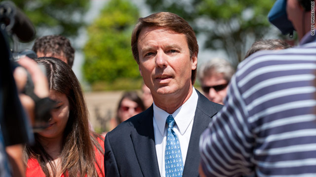 John Edwards was indicted in June on charges he used campaign contributions to hide an affair.