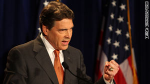 Rick Perry, shown making his presidential announcement in Charleston, South Carolina, will debate Wednesday.