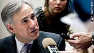 Texas Attorney General Greg Abbott says the commission can only investigate cases tested since September 2005.