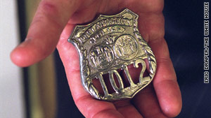 President Bush always kept the badge worn by Port Authority Officer George Howard, who died in the trade center, in his pocket during his presidency.