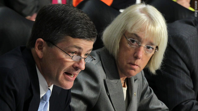 "Republican Rep. Jeb Hensarling of Texas and Democratic Sen. Patty Murray of Washington are the co-chairs of the deficit-cutting ""supercommittee."""